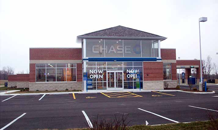 jpmorgan chase co new chase bank locations quandel construction