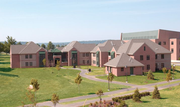 Penn State Harrisburg Campus New Residence Halls Quandel Construction